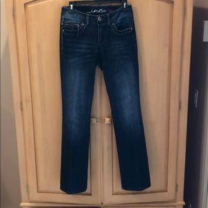 INC Denim Jeans Regular fit. Boot Cut Trendy